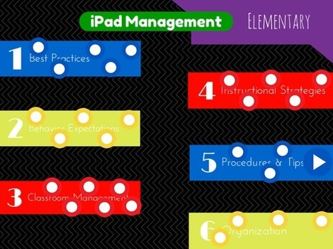 iPad Management in Elementary by Heather Kilgore | iPads in Education | Scoop.it