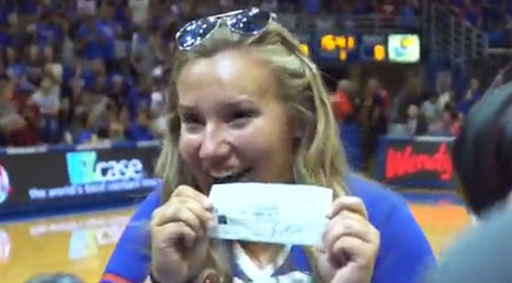 'She's My Mom. She's My Dad. She's My Grandma — She's Everything': Student Wins $10,000 Half-Court Shot And Gives Check To Grandma | Middays with Becky in DC | Scoop.it