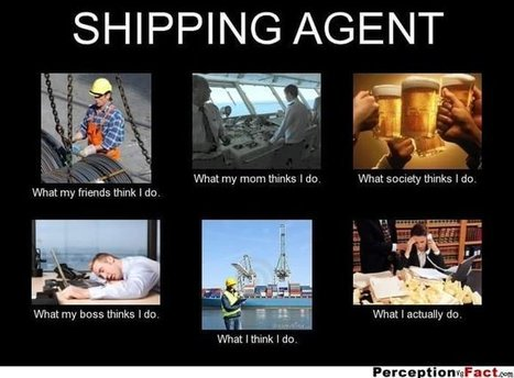 Shipping Agent | What I really do | Scoop.it