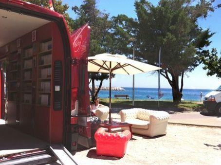 Le Livre de Poche part sur la route des vacances… en camion - France Graphique | Habillage Urbain | Scoop.it