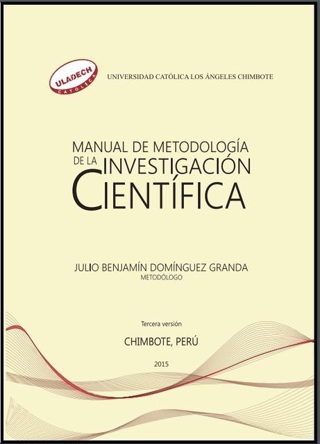 Manual de Metodología de la Investigación Científica | Contenidos educativos digitales | Scoop.it