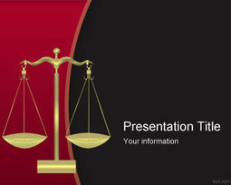 free criminal justice powerpoint template fre