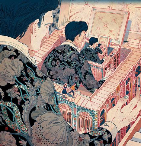 Illustrator Spotlight: Victo Ngai | El Mundo del Diseño Gráfico | Scoop.it