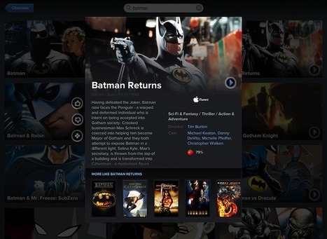 'Vidora' is a second screen iPad app all Apple TV owners should be using   All TV   Scoop.it