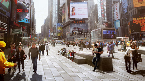 Snøhetta completes phase one of Times Square transformation | PROYECTO ESPACIOS | Scoop.it