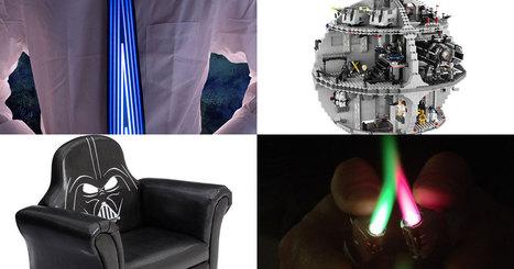 Les gadgets geek de la semaine : un fauteuil Dark Vador, une cravate lumineuse, un décapsuleur à une main…   veille stratégique et monde numérique   Scoop.it