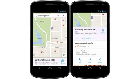 Google Maps Mobile Apps Will Now Be Polluted With Ads (Sad Face) - Gizmodo | Geolocated | Scoop.it