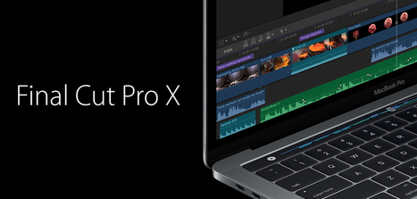 Final Cut Pro 10.3 changement dans la continuité - Focus Numérique | 100% e-Media | Scoop.it