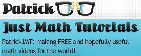 PatrickJMT: FREE useful maths videos! | technologies | Scoop.it