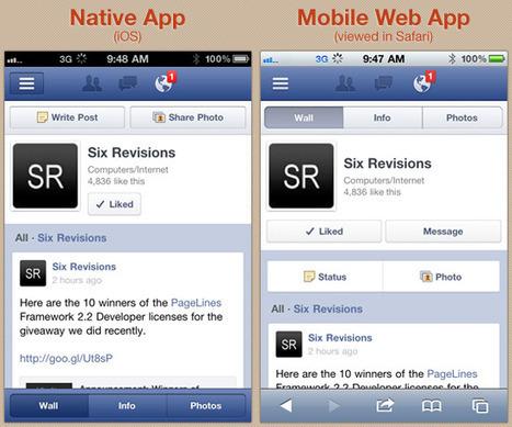 En finir avec le débat application vs. site mobile - Terminaux Alternatifs.fr | Les applications mobiles | Scoop.it