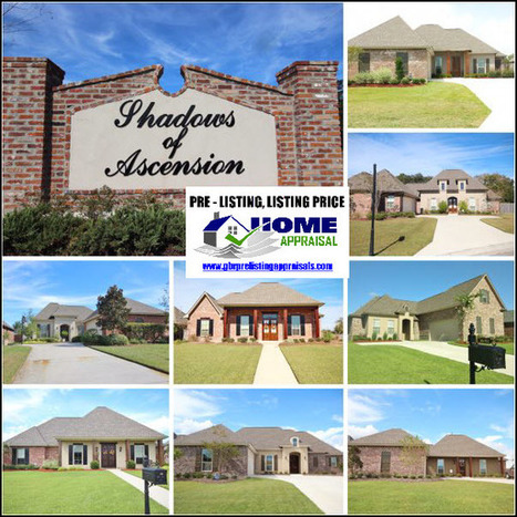 Shadows of Ascension Prairieville Home Sales Update 2016 | Ascension Parish Real Estate News | Scoop.it