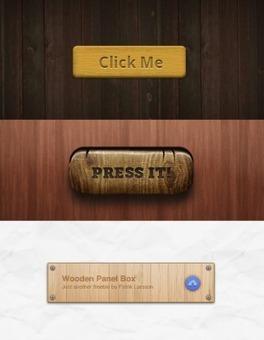Iconos, fondos y botones de Madera gratis para tu web | Recursos Web Gratis | Scoop.it