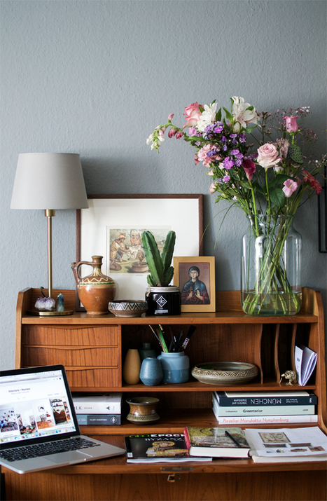 Bohemian Home Office · Happy Interior Blog | Interior Design & Decoration | Scoop.it