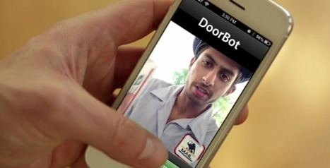 Smart doorbell lets you answer the front door with your phone | Smart Phone & Tablets | Scoop.it