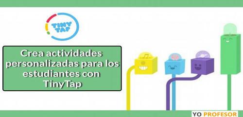 Crea actividades personalizadas para los estudiantes con TinyTap