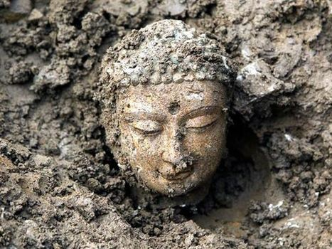 Over 1000 Ancient Buddha Statues Uncovered in China - The Epoch Times | Archaeology News | Scoop.it