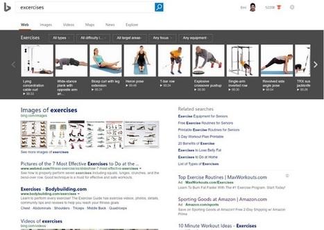 Bing lance de nouvelles fonctionnalités de recherche | Référencement internet | Scoop.it