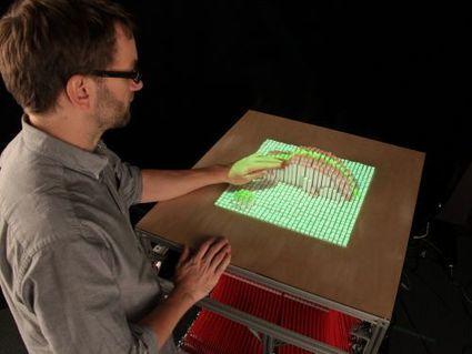 La table interactive InForm donne du relief aux objets et aux gestes | Millanettic y la Innovación, la creatividad y las ideas | Scoop.it