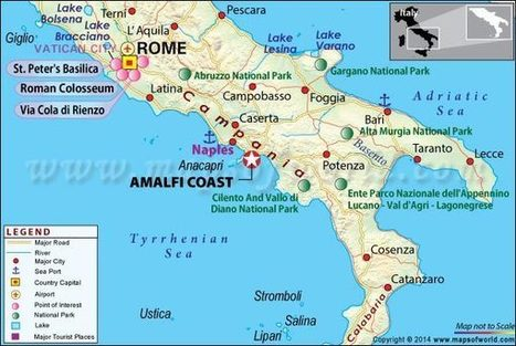 Amalfi Coast Italy Map Location Facts Wea