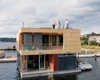 maison flottante construction de maiso. Black Bedroom Furniture Sets. Home Design Ideas