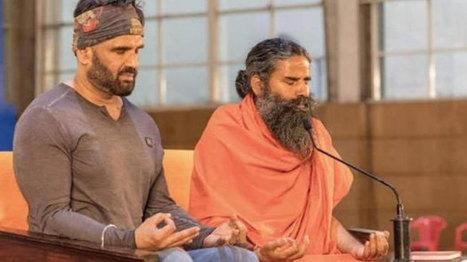 When Sunil Shetty fails in front of Baba Ramdev
