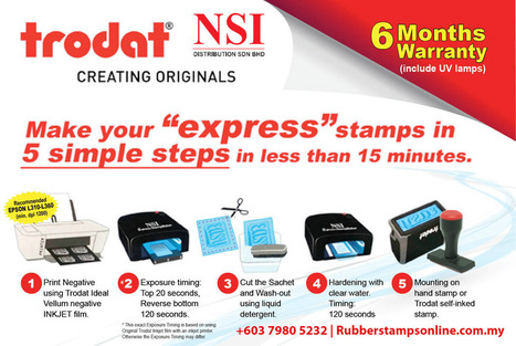 Rubber Stamps Maker Online In Malaysia