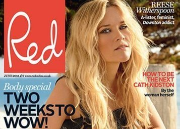 Reese Witherspoon Talks Pinterest Obsession in Red June 2013 | Celebrity-gossip.net | Pinterest | Scoop.it