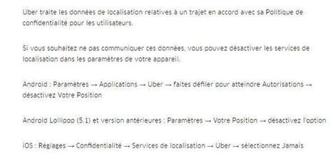 Uber géolocalise désormais ses clients après leur trajet | Pulseo - Centre d'innovation technologique du Grand Dax | Scoop.it