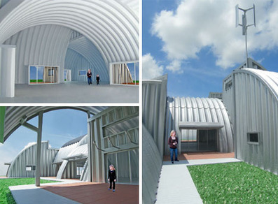 Steel House: Modular, Prefab, Off-the-Grid Green Design | Designs & Ideas on Dornob | Urban Design | Scoop.it