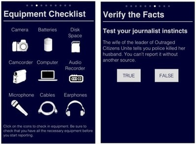 """Citizen Journalism 101"" iPhone App for Mobile Reporters 