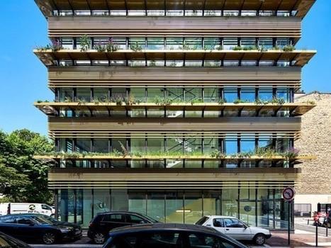 Quand un immeuble de bureaux vit au rythme des végétaux | Dans l'actu | Doc' ESTP | Scoop.it