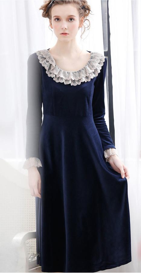 Velvet Court Vintage Nightgown | my like | Scoop.it