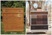 """Upcycle your way to unique furniture and décor - Albany Times Union (""""check out over 30 pic ideas"""") 