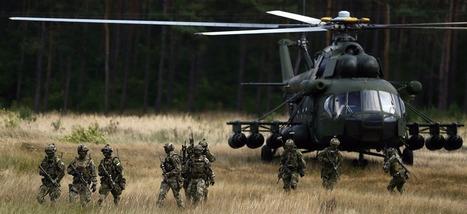 Des hélicoptères de l'armée américaine sèment la panique en atterrissant en Pologne ' Histoire de la Fin de la Croissance ' Scoop.it