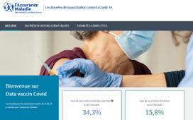 Covid-19 : lancement de Data vaccin Covid, un site pour visualiser la couverture vaccinale en France   ameli.fr   Assuré