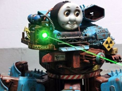 Post-Apocalyptic Thomas the Tank Engine   WOW Factor   Scoop.it