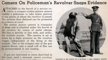 The Revolver Camera: Oddity or oddly familiar? (VIDEO) - Guns.com | HDSLR news | Scoop.it