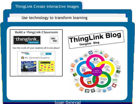 Weaving a Web of Flexible Tools with ThingLink | ThingLink Blog | 21st Century Research and Information Fluency | Scoop.it
