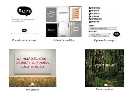 Recite: créer des messages illustrés en un clic | Apprendre à l'ère numérique | Scoop.it