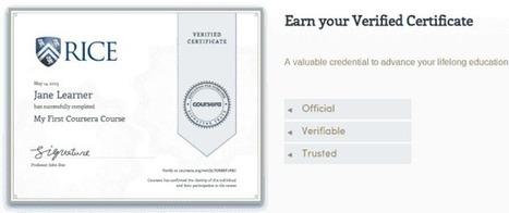 Coursera gana su primer millón de dólares vendiendo certificados de sus cursos   Educación a Distancia y TIC   Scoop.it