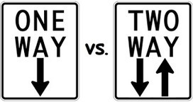 Kotter Change Communication Gap > One-Way Traffic Doesn't Motivate Change   Programme, Project and Change Management   Scoop.it