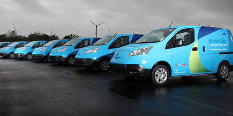 Charged EVs   Nissan and British Gas launch UK's largest commercial EV pilot   Sustainability and responsibility   Scoop.it