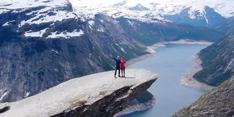 The 13 Hour Trek It Takes To Get To Norway's Troll's Tongue Is Worth It For The Breathtaking View | TRAVEL KEVELAIR | Scoop.it