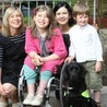 Lottie's life 'transformed' by specially-trained dog Velvet