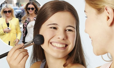 Girls now using makeup at 11 - three years younger than a decade ago | Troy West's Radio Show Prep | Scoop.it