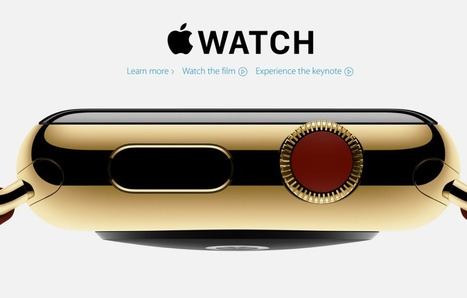 Apple Launches Apple Watch, its First Wearable Device | CAEXI Expertises | Scoop.it