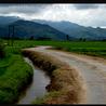 Land between INDIA and BURMA