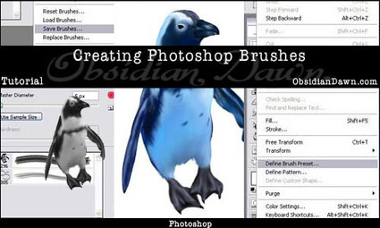 Creating Photoshop Brushes Tutorial | Obsidian Dawn | Artdictive Habits : Sustainable Lifestyle | Scoop.it