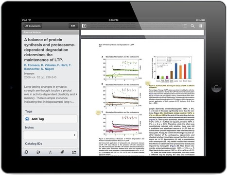 The New Mendeley for iPad and iPhone | Mendeley Blog | François MAGNAN  Formateur Consultant | Scoop.it