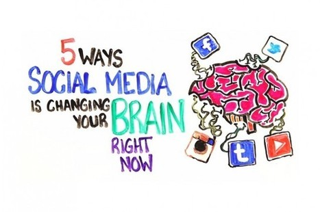 5 Ways Social Media Is Changing Your Brain | IFLScience | Language, Brains, and ELL News | Scoop.it
